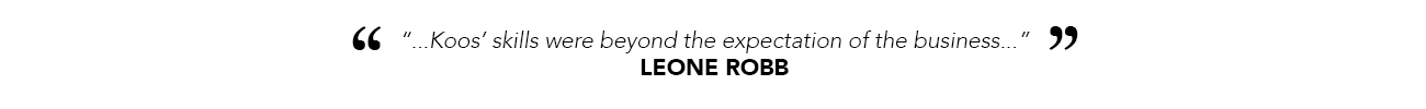White Leone Robb