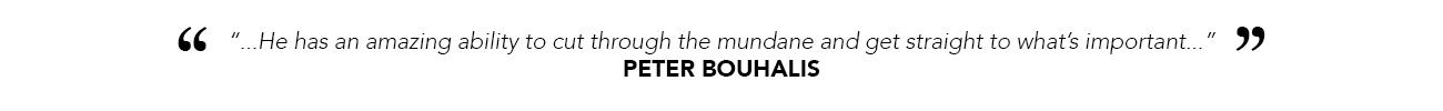White Peter Bouhalis